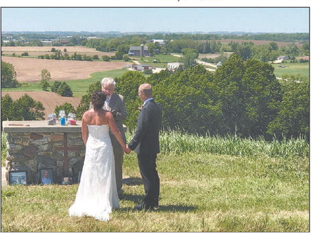 First Wedding  On The Hill