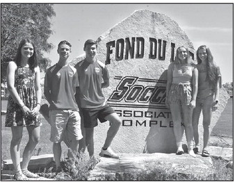 Fond du Lac Soccer Association  Awards Five Scholarships