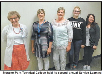 Moraine Park Students Recognized For   Service Learning