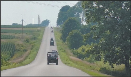 ATVs Now Allowed  On Some Area  Roads