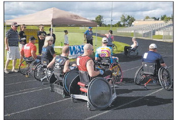 Area Residents Participate  WASA 400 Challenge