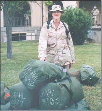 Ingrid Grahl Looks Back On  Military Career
