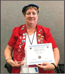 Mayville Woman Named National  40/8 Dame of the Year