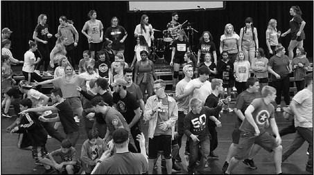 Young Americans Perform In Kewaskum