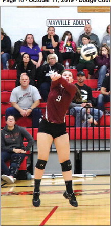 Lady Card Volleyball  Victorious Over Omro