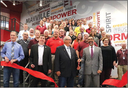 MHS Grand Opening Celebration Reveals  Completed High School Renovations
