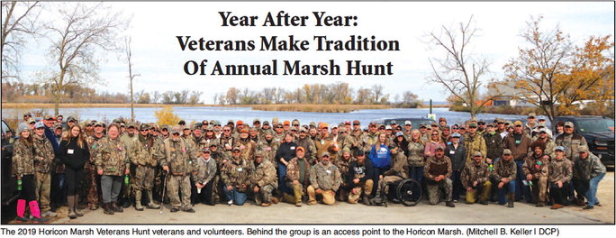 Year After Year:  Veterans Make Tradition  Of Annual Marsh Hunt