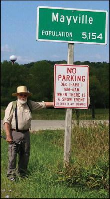 Veteran Walks Rock River Trail To  Complete 'Hometown Hike'