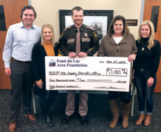 Zacherl Family Honors Legacy  With Ice Rescue Kit Donation  To Sheriff's Office