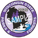 2020 Wisconsin State Park Stickers On Sale