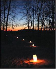 2020 Horicon Marsh Candlelight Hike Jan. 18