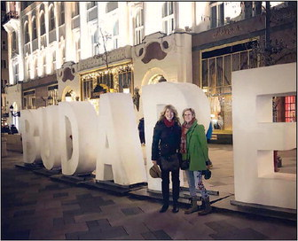 Two CMS/CHS Teachers Take Part In  Budapest Educational Convention