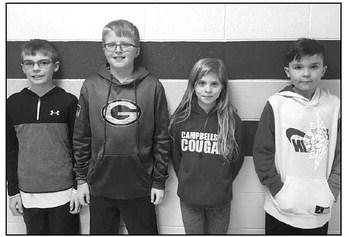 Eden Elementary School  GeoBee Finalists