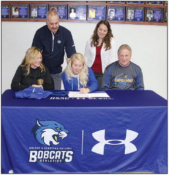 Alyssa Dreher Signs To Play  At Bryant & Stratton College