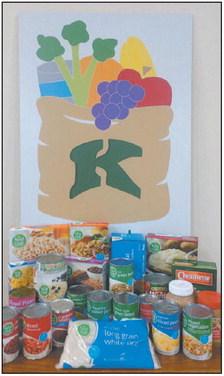 Kewaskum Community Donates   To Food Pantry