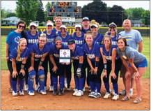 Cougar Softball Wins  Conference Championship