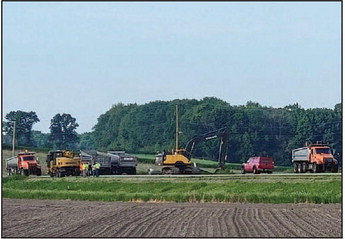 County Begins Hwy TW Repaving Project