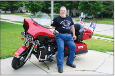 Kewaskum Resident  Appointed Flag Bearer  In 50-State Patriot Tour