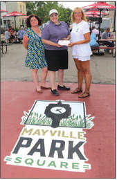 Mayville Park Square  Celebrated with Grand  Opening Event
