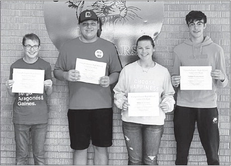 CHS September Students Of The Month